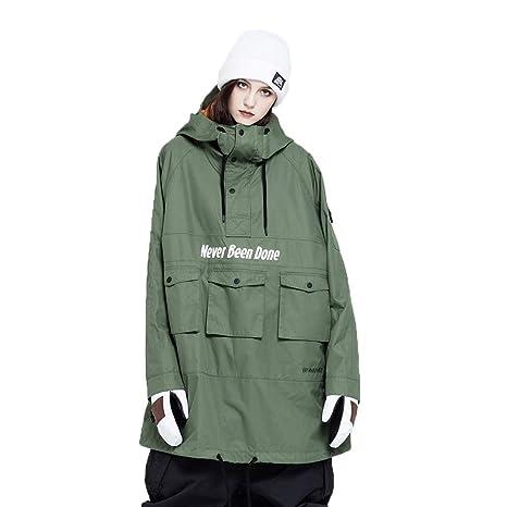 Amazon.com: NOBADAY JOJA - Chaqueta de snowboard para hombre ...