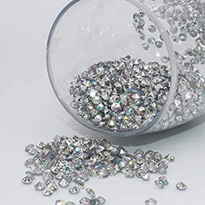 4.5mm pack of 10000pcs Acrylic Crystal Diamond For Vase Fillers, Party Table Scatter, Wedding, Photography, Party Decoration, Crafts DIY Project