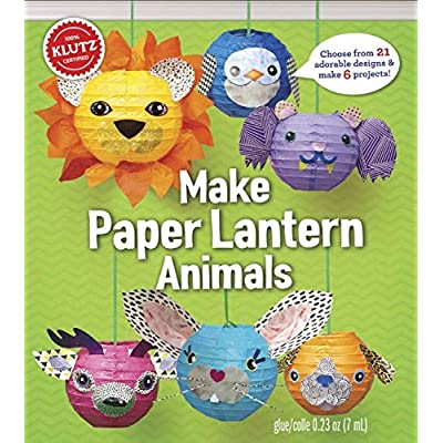 KLUTZ Make Paper Lantern Animals Toy: Klutz: Toys & Games