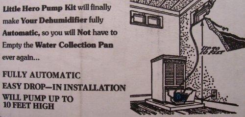 [해외](소장품)작은 영웅 자동 제습기 펌프 키트 결코 다시 제습기를 비우지 마십시오!/Little Hero Automatic Dehumidifier Pump Kit  Never Empty Your Dehumidifier A