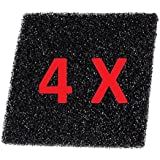 4-Pack Filters for Soldering Smoke Extractor / Solder Fume Absorber, Activated Carbon