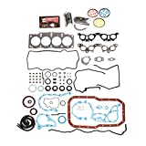 Evergreen Engine Rering Kit FSBRR2021EVE 90-96 Toyota MR2 Camry 2.2 5SFE Full Gasket Set, Standard Size Main Rod Bearings, Standard Size Piston Rings