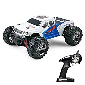 vatos rc remote control cars off road high speed 4wd 25mph 1 24 scale 50m remote. Black Bedroom Furniture Sets. Home Design Ideas