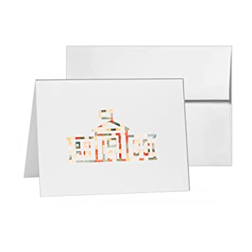 Amazon the white house usa structure blank card invitation the white house usa structure blank card invitation pack 15 cards at 4x6 stopboris Gallery
