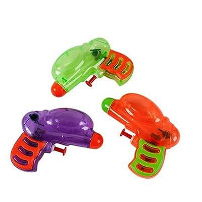 Fun Express Neon Grip Squirt Guns - 12 Pieces: Toys & Games