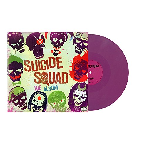 Suicide Squad: The Album (edición limitada, vinilo de color morado)