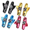 Alloet 1 Pair Mountain Road Bicycle Cycling Folding Bike V Brake Pads Holder Rubber Blocks C Clamp Durable Parts