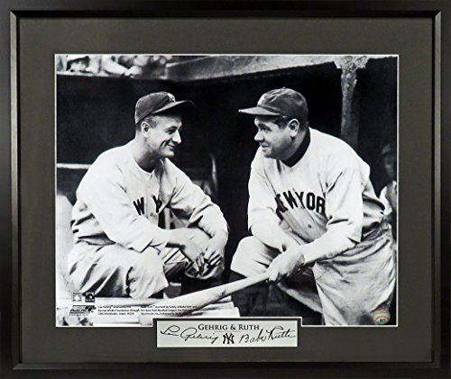 lou gehrig the luckiest man poster