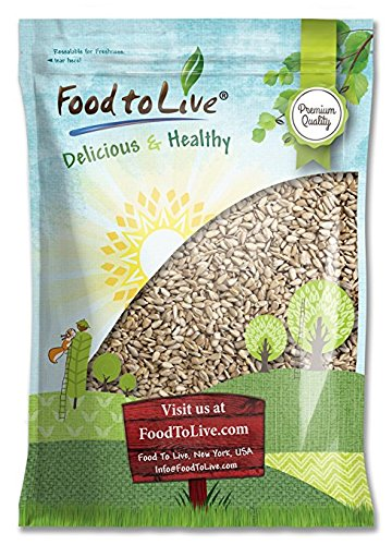 Sunflower Seeds by Food to Live (Raw, Kernels, Shelled, Kosher, Bulk) - 5 - Pumpkin Cardinals