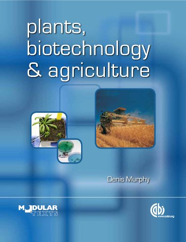 Plants, Biotechnology and Agriculture (Animal & Veterinary Science)