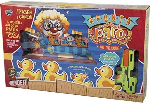 XTURNOS Apunta al Pato: Amazon.es: Juguetes y juegos