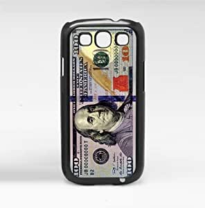 100 Dollar Bill Money Hard Snap on Phone Case (Galaxy s3 III)