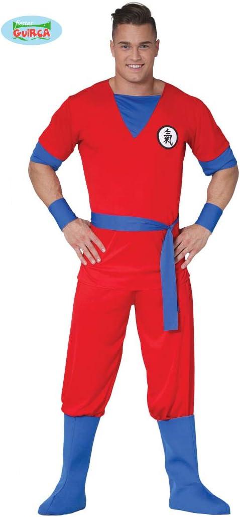 Costume manga rosso adulto M 48-50
