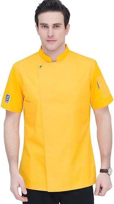 TUDUZ Camisetas Manga Corta Camisas De Algodon Y Lino A Rayas Boton Con Bolsillo Superior Top Ropa De Cuello V Hombre: Amazon.es: Ropa y accesorios