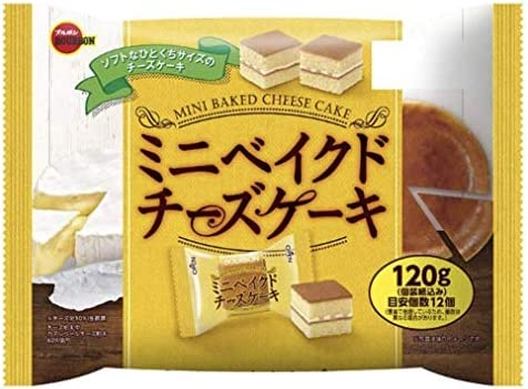 ブルボン ミニベイクドチーズケーキ 120g×1袋