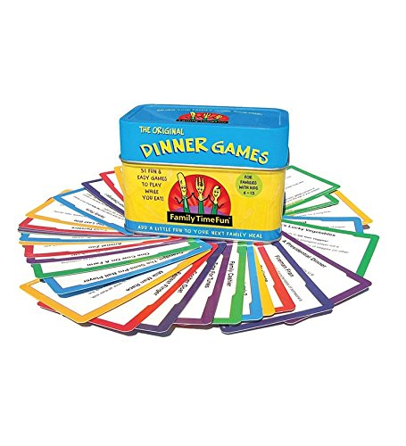 Dinner Games for Ages 5-12 (Tin Game Quick Pick)