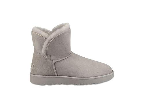 463082b078403 UGG Classic Cuff Mini Mujer Gris Botas-UK 7  Amazon.es  Zapatos y  complementos