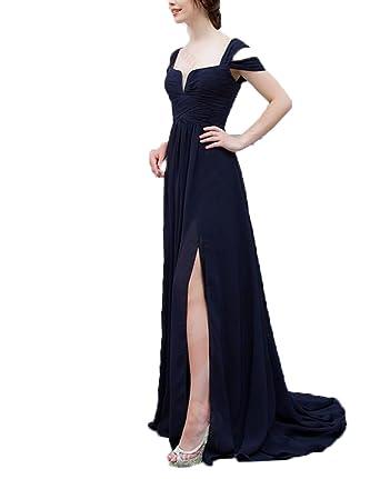 olise bridal 2018 New Spaghetti Strap Floor-Length A-Line Designer Bridesmaid Dresses Prom