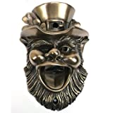 Leprechaun wall mounted bottle opener. Bronze finish by Beer Buddies For Sale