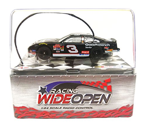 Dale Earnhardt #3 Racing Wide Open 1:64 Scale Radio Control Car (Black)