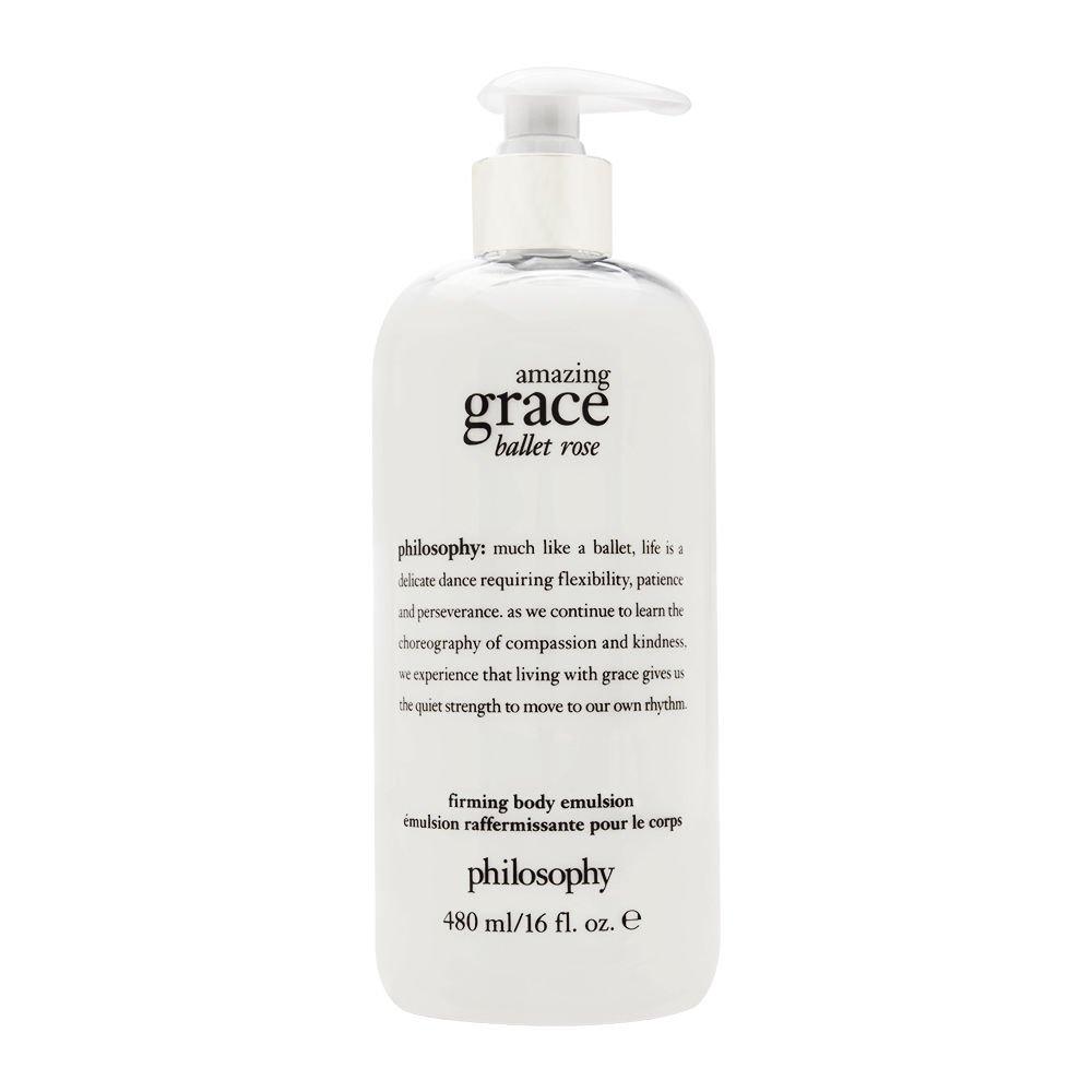 Philosophy Amazing Grace Ballet Rose 16.0 oz Firming Body Emulsion by Philosophy