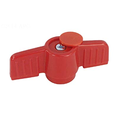 The Pool Supply Shop Red Orange PVC Handle for 1.5 Inches HIMP Ball Valve : Garden & Outdoor