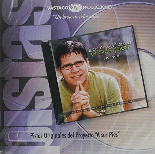 A Sus Pies - En Vivo - Jesús Adrián Romero - Pistas (Pie Jesu Latin)