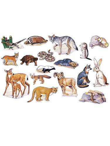 Desert Animals - Pre-Cut Flannelboard Figures