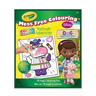 Crayola Color Wonder Book, Doc McStuffins, Gifting (B00CMM9JK6) | Amazon price tracker / tracking, Amazon price history charts, Amazon price watches, Amazon price drop alerts