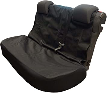 Premier Products Semi-Tailored Waterproof Rear Seat Cover Black