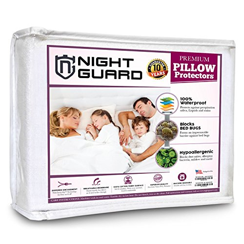 Pillow Protectors Set Waterproof Hypoallergenic product image