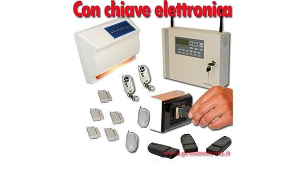 ALARMA INALÁMBRICA PROFESIONAL CASA WIRELESS TRANSMISOR GSM ...