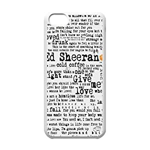 popular singer Ed Sheeran phone Case Cove For Iphone 5c XXM9191787