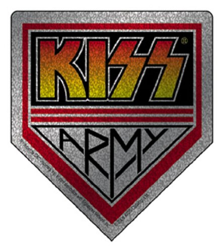 Kiss Army (Licenses Products Kiss Army Glitter Sticker)