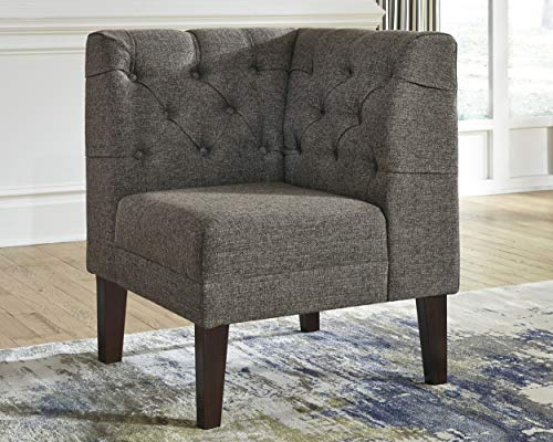 Signature Design By Ashley - Tripton Corner Upholstered Bench - Casual Style - Medium Brown