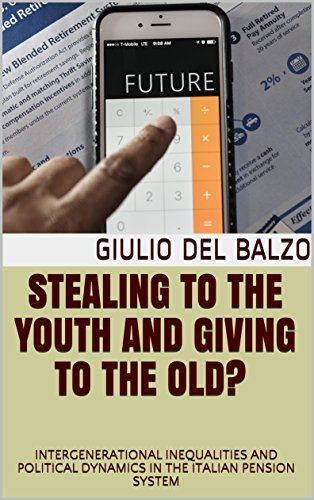 Stealing to the youth and Giving to the Old? : INTERGENERATIONAL INEQUALITIES AND POLITICAL DYNAMICS