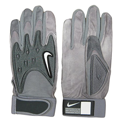 Nike College D-Tack III Men's Football Gloves - Leather Palm - Size Large