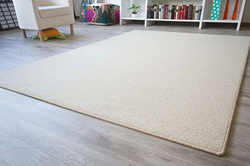 Designer Teppich Modern Berber Wellington in Beige, Größe: 140x200 cm