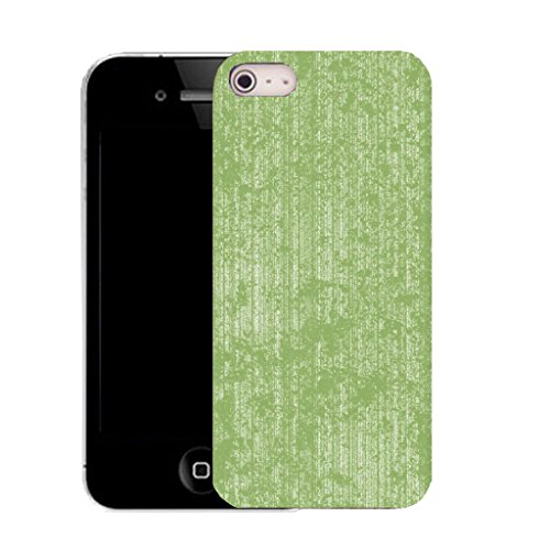 Mobile Case Mate IPhone 5S clip on Silicone Coque couverture case cover Pare-chocs + STYLET - green profficient pattern (SILICON)