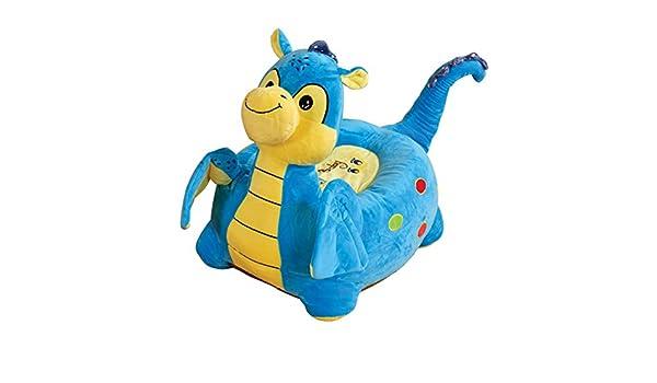 Dragón de peluche de los niños silla de montar – Disponible en rosa o azul – Entrega gratuita: Amazon.es: Hogar