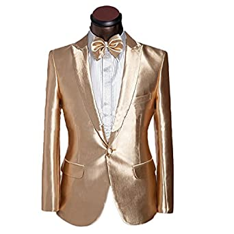 Men's Vintage Style Suits, Classic Suits Mens One-Button Blazer Tuxedo Casual Dress Suit Slim Fit Jackets & Trousers  AT vintagedancer.com