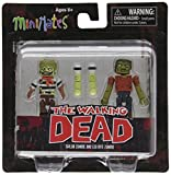 Diamond Select Toys Walking Dead Minimates Series 2: Sailor Zombie and Leg-Bite Zombie , 2-Pack