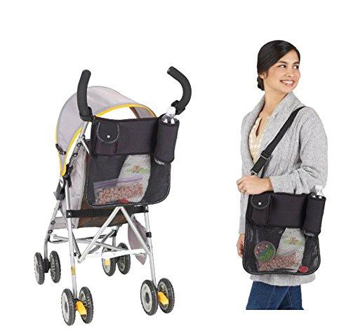 qiyushow bebé bolsa de pañales Mom Gran Capacidad Cochecito Accesorios para Mummy Bolsa de hombro