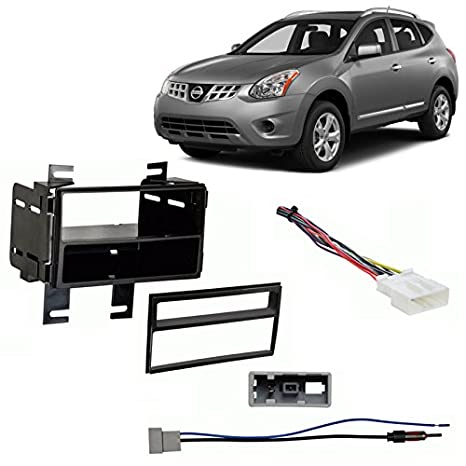 Amazon.com: Fits Nissan Rogue Select 2014 Multi DIN Stereo Harness
