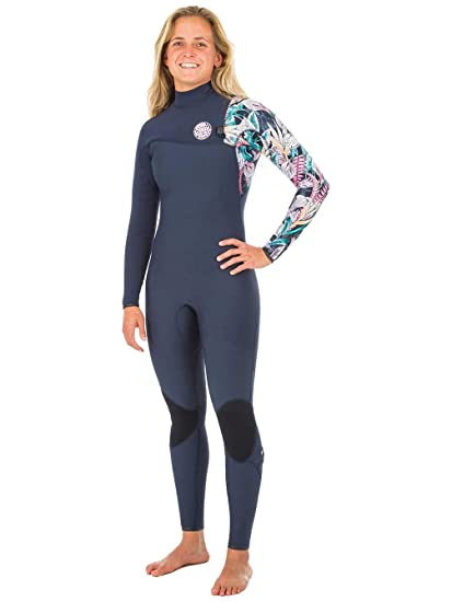 36e5ccec13 Amazon.com : Rip Curl 2018 Womens G Bomb 3/2mm Zip Free Wetsuit ...