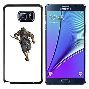 TECHCASE---Cubierta de la caja de protección para la piel dura ** Samsung Galaxy Note 5 ** --Killer Hombre Blanco Pc personaje del juego