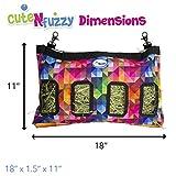 "cuteNfuzzy 18""x11""x1.5"" Small Pet Hanging Hay Bag"