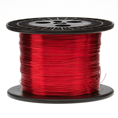 Magnet Wire, Enameled Copper Wire, 14 AWG, 10