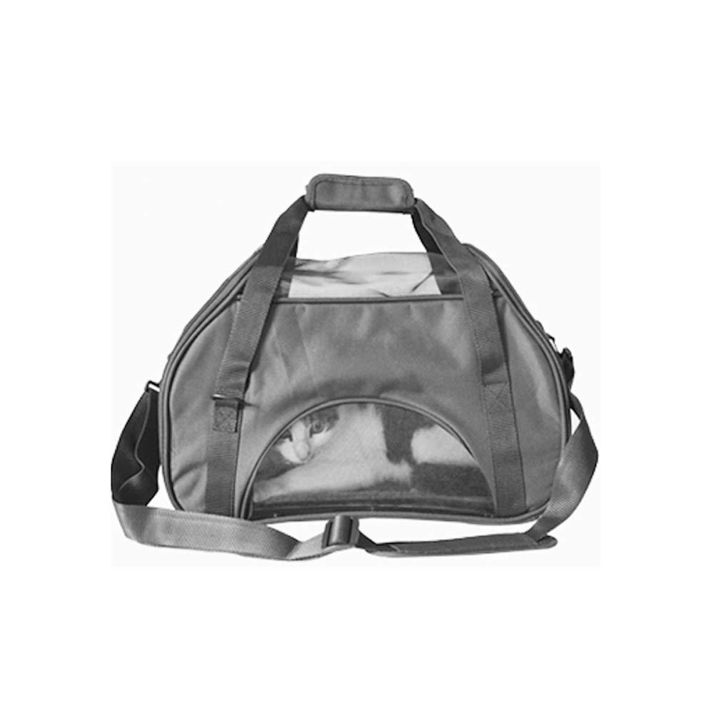 B DS- Pet stroller Pet Bag Pet Out Carrying Bag Small Pet Hand Bag Multi-function Breathable Shoulder Bag, Two colors Optional, 430X210X310mm && (color   B)