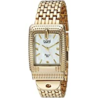 Burgi Women's Quartz Stainless Steel Casual Watch, Color:Gold-Toned (Model: BUR171YG)